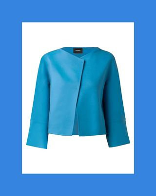Seamed Cashmere Jacket