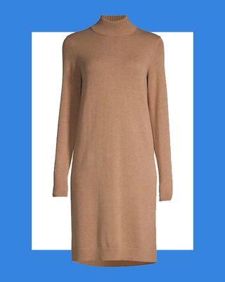 Belletta Wool-Blend Long-Sleeve Dress