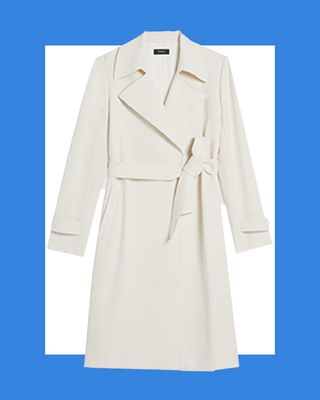 Oaklane Trench Coat on Crepe