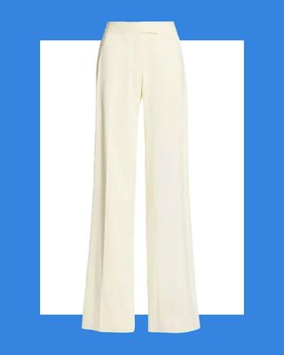 Relaxed Straight-Leg Trousers