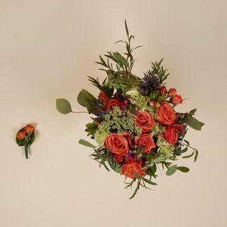 Micro bouquet de mariage
