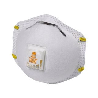 Disposable Respirators with Valve (10 Count)