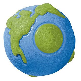 Planet Dog Orbee-Tuff Planet Ball Bleu