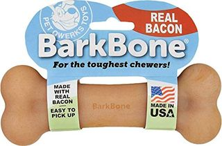 Pet Qwerks REAL BACON Infused BarkBone