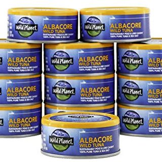 Canned Albacore Wild Tuna With Sea Salt