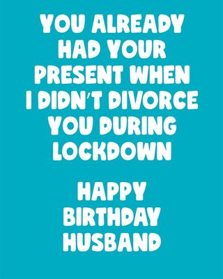 You Already Had Your Present Husband