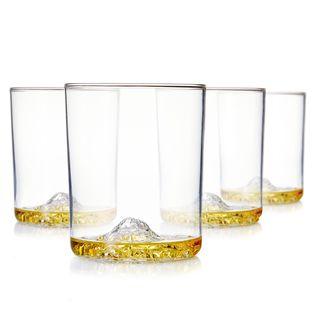 Whiskey Peaks American Mountains - Set of 4