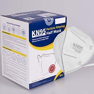 KN95 Face Masks (40 Count), White