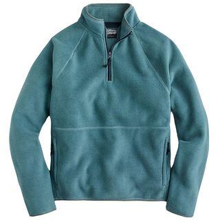 J.Crew Micro Fleece Half-zip Pullover