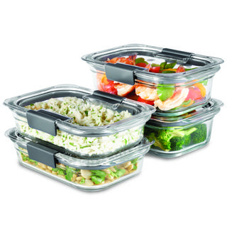 Brilliance Glass Storage Set of 4