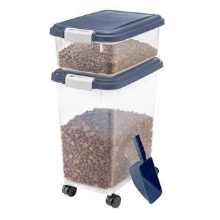 3-Piece Airtight Pet Food Storage Container Combo