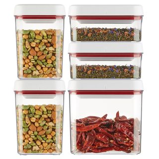 Twist and Seal 5 Piece Dry Storage Set
