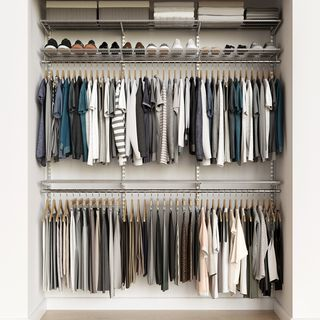 Elfa Classic 6' Closet Kit