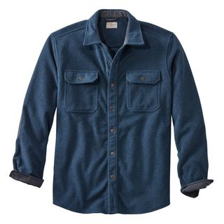 L.L. Bean Allagash Fleece Overshirt