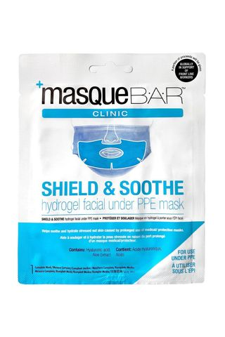 Shield & Soothe Hydrogel PPE Facial Under Mask