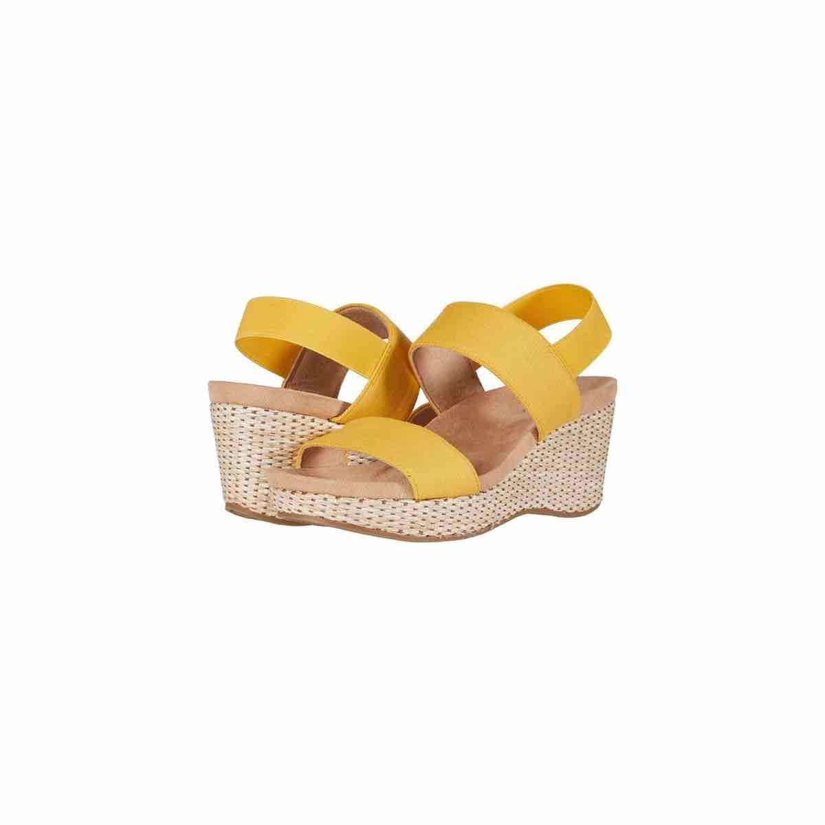 2020 PerhapsRio Comfortable Animal Print Wide Open Toe Platforms Sandals Casual Lightweight Buckle Ankle Strap Sandals with Velcro Beach Satin Fish Sandals