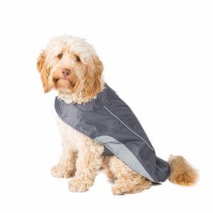 Ripstop Dog Jacket Charcoal Medium