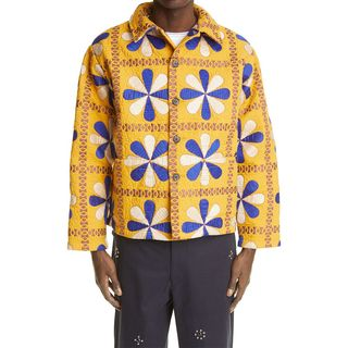 Bengali Tableau Quilted Workwear Jacket