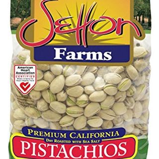 Dry Roasted Pistachios With Sea Salt