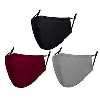 Adjustable Cotton Masks Unisex (3-Pack)