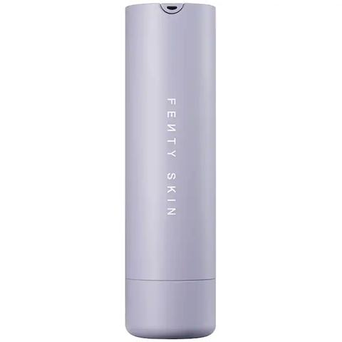 A bottle of the Fenty Skin Hydra Vizor Invisible Moisturizer sunscreen.