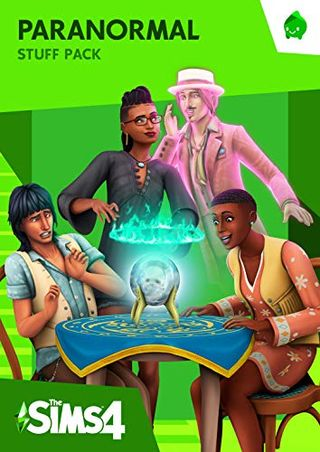 The Sims 4 Paranormal Stuff (Origin code)