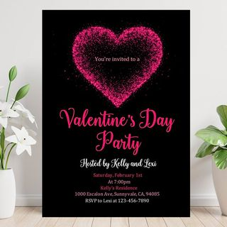 Instant Download Valentine's Day Party Invitation