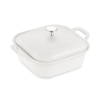 Square Ceramic Covered Baking Dish