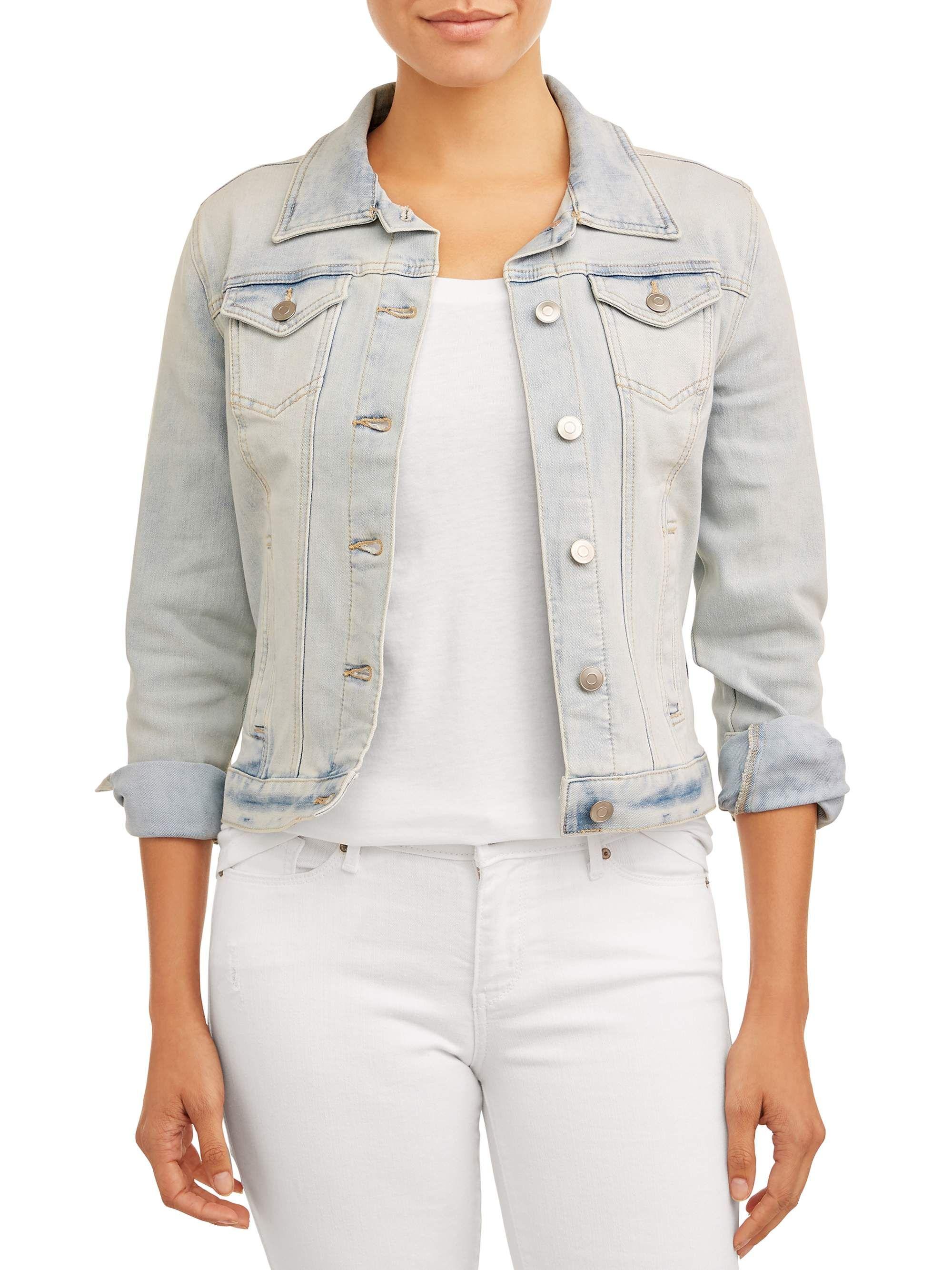 Women/'s Ladies Denim Oversize Jeans Short Jackets Slim Fit Coats Plus SizeTops