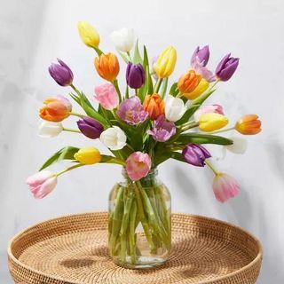 Los tulipanes de temporada