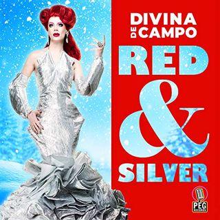 'Red & Silver' by Divina de Campo