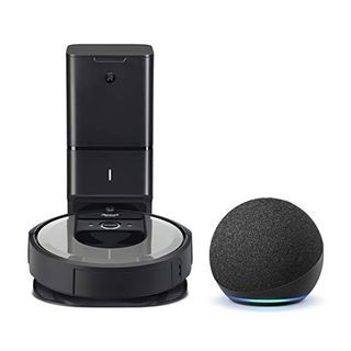 iRobot Roomba i6+ with Echo Dot