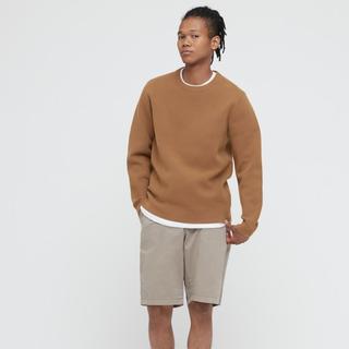 Uniqlo Milano Ribbed Crew Neck Sweater