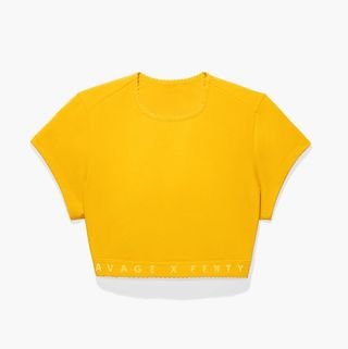 Cotton Jersey Crop Top