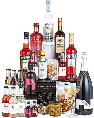 Cocktail Cabinet Hamper