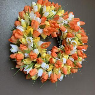 Couronne de tulipe