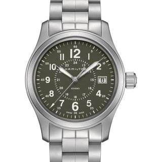 Men's Khaki Field Quartz Bracelet Watch, 38mm