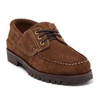 Aquatalia Dax Suede Boat Shoe