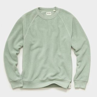 Todd Snyder Reverse Fleece Sweatshirt