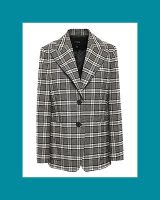 Vrity Checked Tweed Blazer