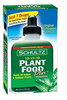 Engrais liquide tout usage pour plantes