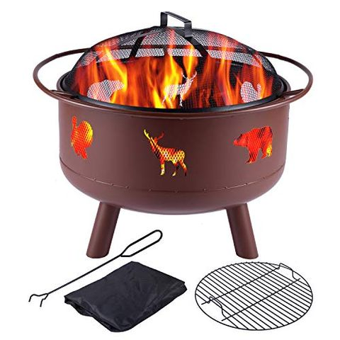 9 Best Wood Fire Pits for 2021 - Top-Rated Wood Fire Pits
