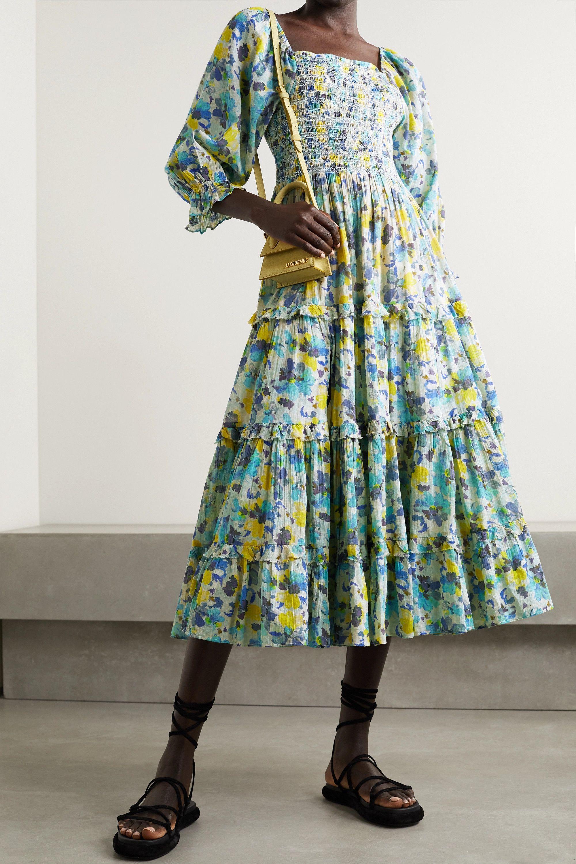 Floaty Floral Summer Dress