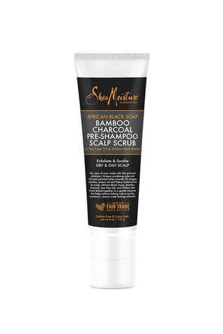 SheaMoisture African Black Soap Bamboo Charcoal Pre-Shampoo Scalp Scrub