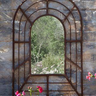 Decorative Antique Pergola Mirror