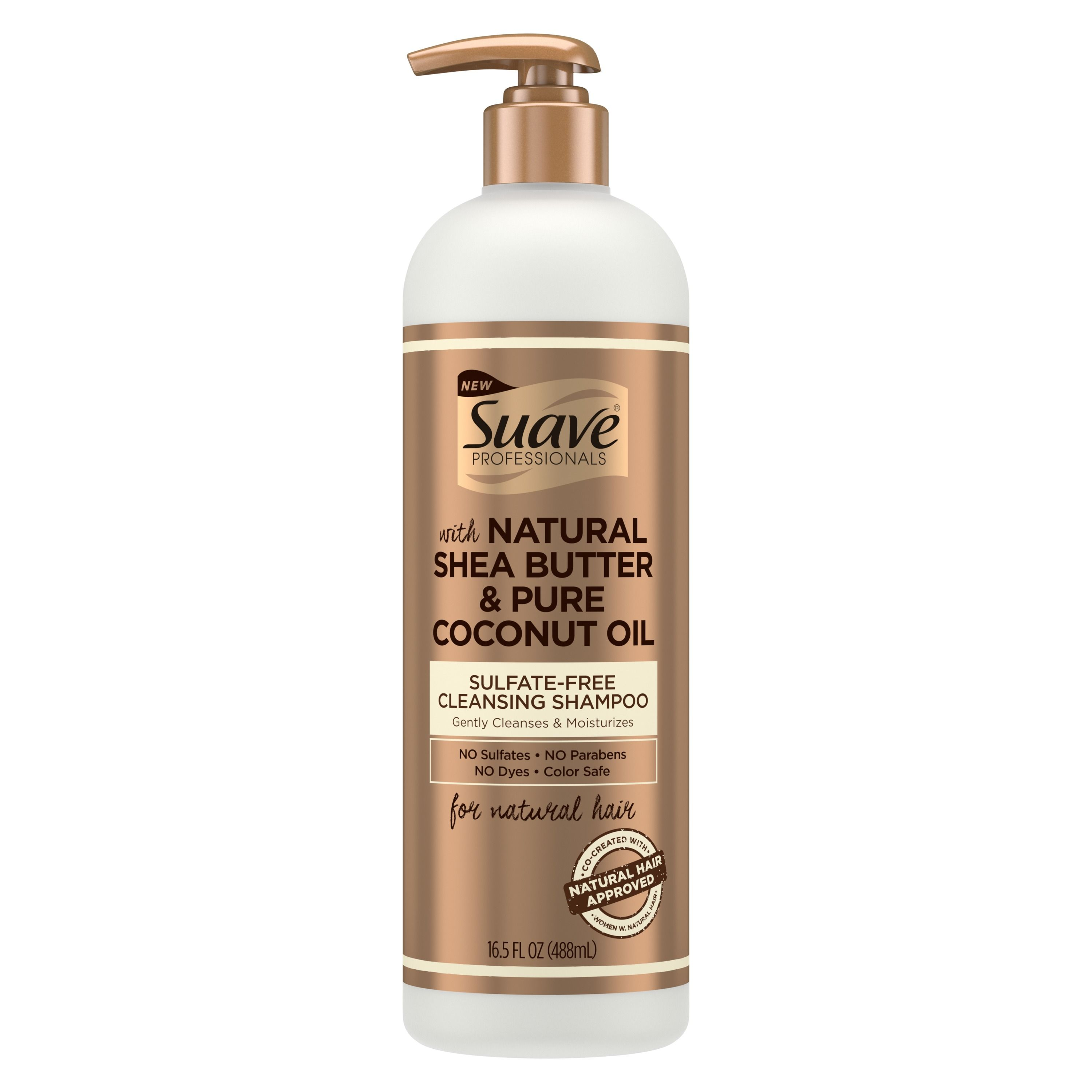 Natural Shea Butter & Pure Coconut Oil Sulfate Free Cleansing Shampoo