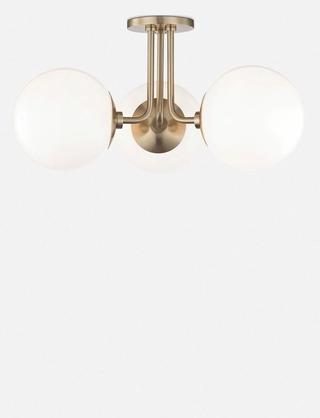 Lia 3-Light Semi-Flush Mount Light