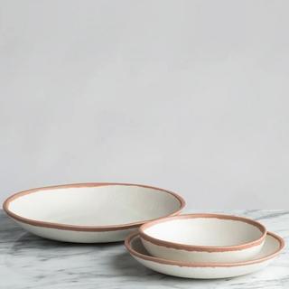 12-Piece Tara Terracotta Dinnerware Set