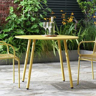 Ipanema Round 4 Seater Garden Table