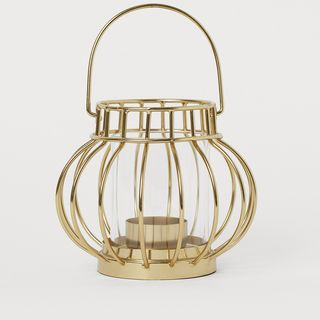 Metal tealight holder